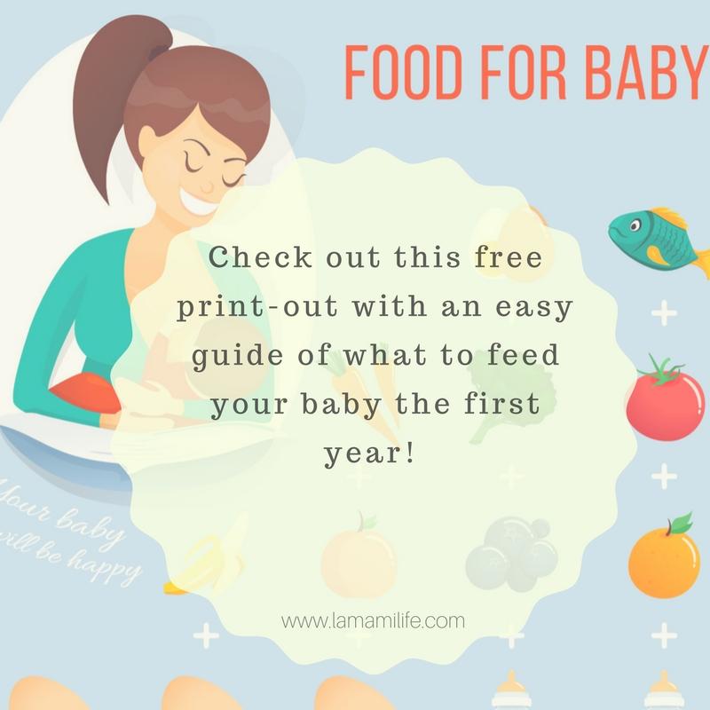 First Year Feeding Guide